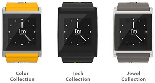 Immagine di alcuni smartwatch della collezione di i'm Watch