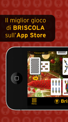Immagine del gioco di carte Briscola Pro per iPhone e iPad