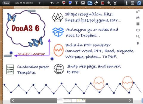 Immagine dell'applicazione DocAS Lite per iPhone e iPad