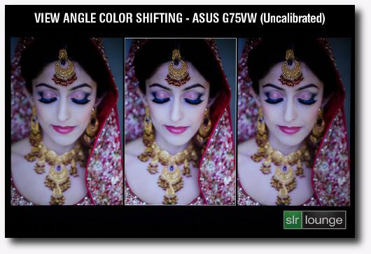 Immagine di confronto tra te immagini con angoli di visuale diversi