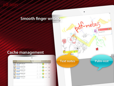 Immagine dell'applicazione PDF Notes Free per iPhone e iPad