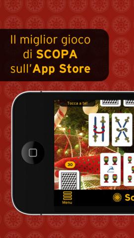 Immagine del gioco di carte Scopa Pro per iPhone e iPad