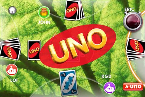 Immagine del gioco di carte UNO per iPhone e iPad