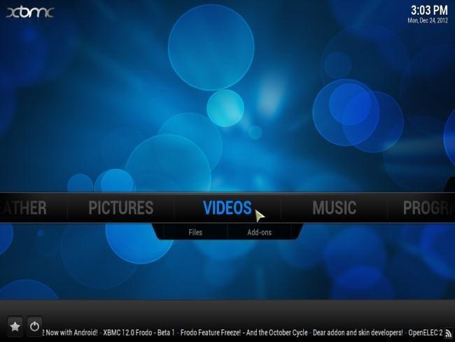Immagine di XBMC