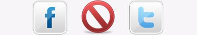 Come farsi bannare dai social network: Facebook, Twitter e Google+