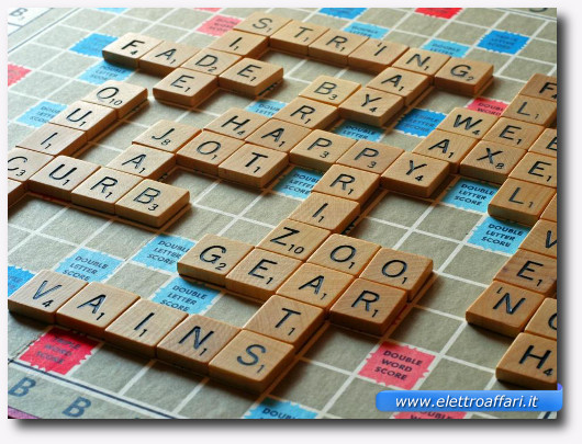 Immagine del gioco Scarabeo molto simile a Ruzzle