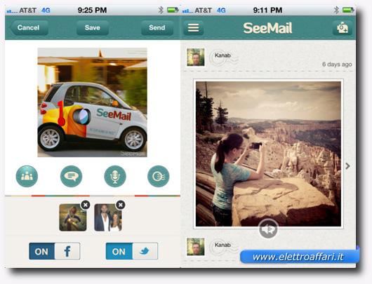 Immagine dell'applicazione SeeMail per iPhone