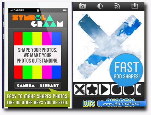 Immagine dell'applicazione SymbolGram per iPhone