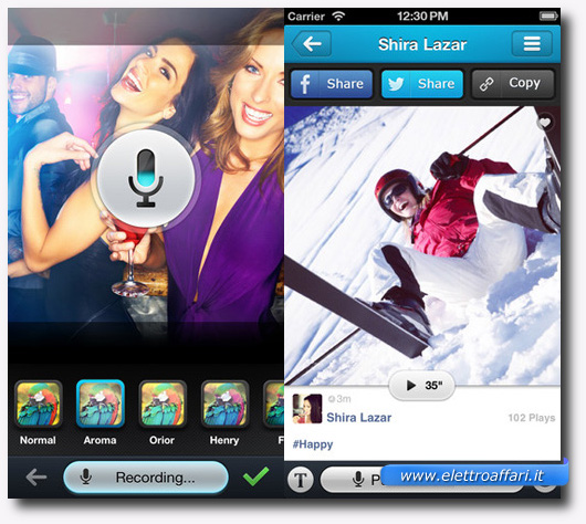 Immagine dell'applicazione Digisocial per iPhone