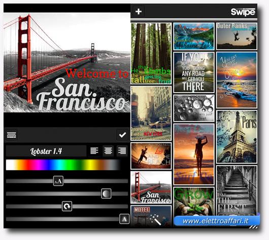 Immagine dell'applicazione Swipe per iPhone