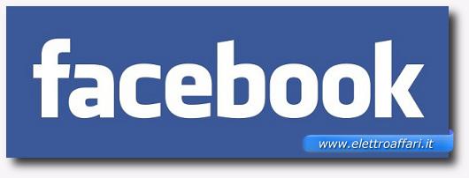 Immagine del logo di Facebook