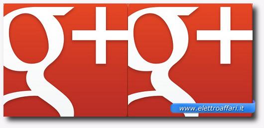 Immagine del logo di Google+