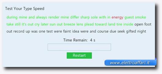 Immagine dell'applicazione Type Speed per Windows 8
