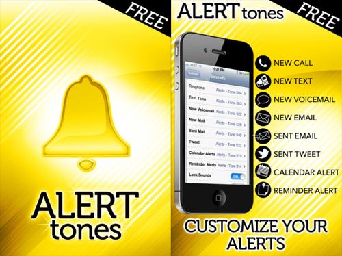 Immagine dell'applicazione Free Alert Tones per iPhone