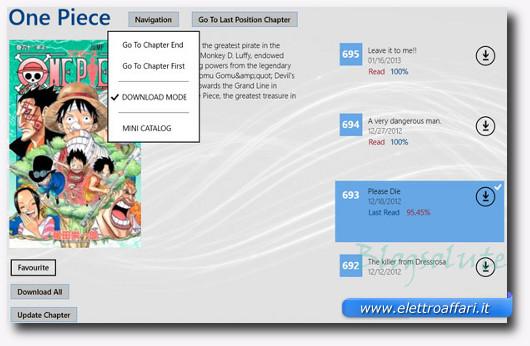 Immagine dell'applicazione Manga Flow