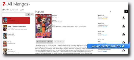 Immagine dell'applicazione Manga Z