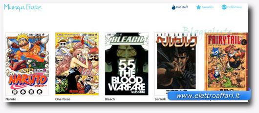 Immagine dell'applicazione Manga Gate