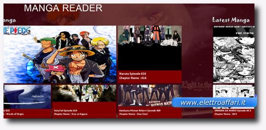 Immagine dell'applicazione Ultimate Manga Reader