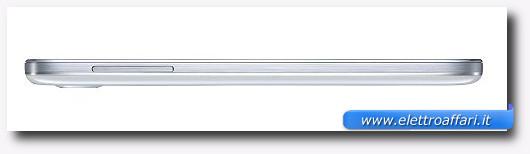 Immagine dello spessore del Galaxy S4