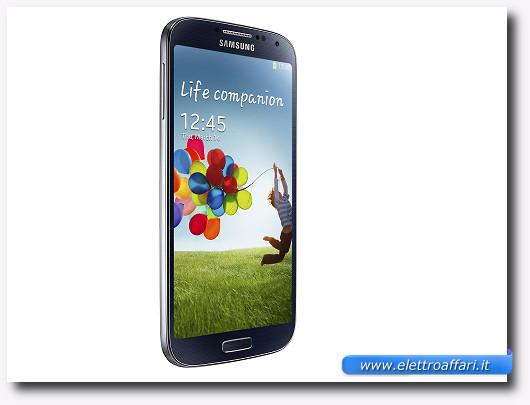 Immagine dello schermo del Galaxy S4