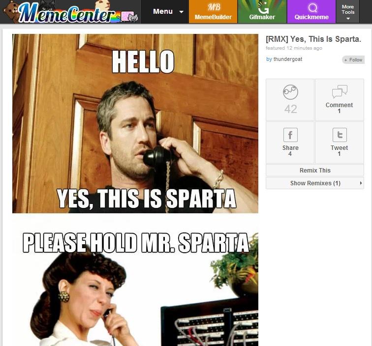 Immagine del sito Meme Center