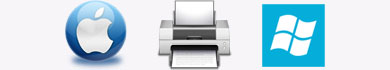 Installare su Mac una stampante condivisa con Windows 7 o 8