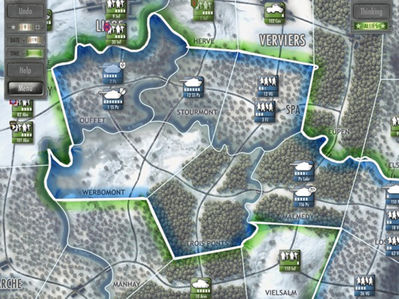 Immagine del gioco Battle of the Bulge per iPad