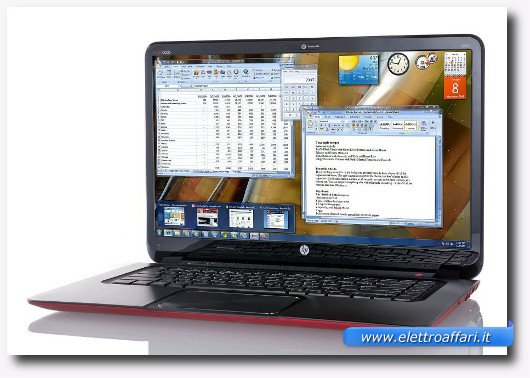 Immagine del portatile HP Envy 6 Sleekbook
