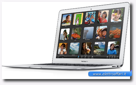 Immagine del portatile Apple Macbook Air