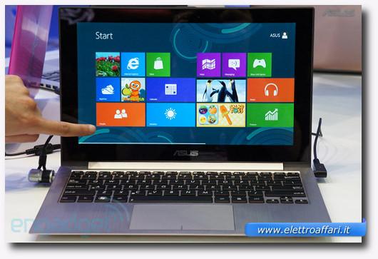 Immagine del portatile Asus ZenBook Prime