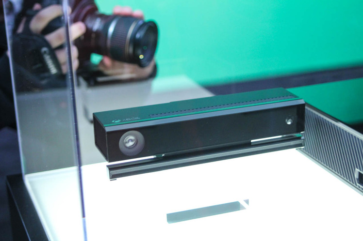 Foto della Kinect della Xbox One