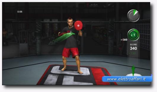 Immagine del gioco UFC Trainer per la Kinect di Xbox 360