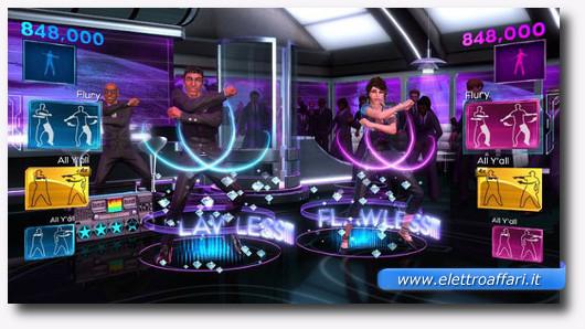 Immagine del gioco Dance Central per la Kinect di Xbox 360