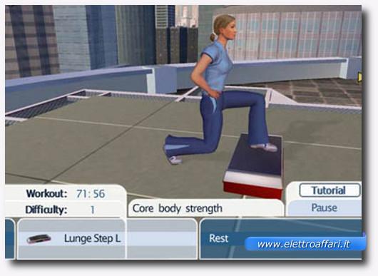 Immagine del gioco Wii Fit della Wii