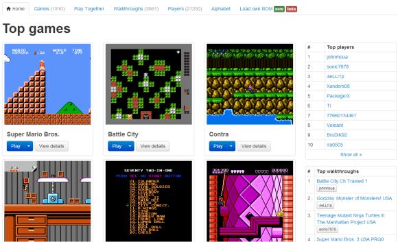 Immagine del sito NESbox.com