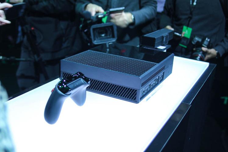 Particolari del design della Xbox One
