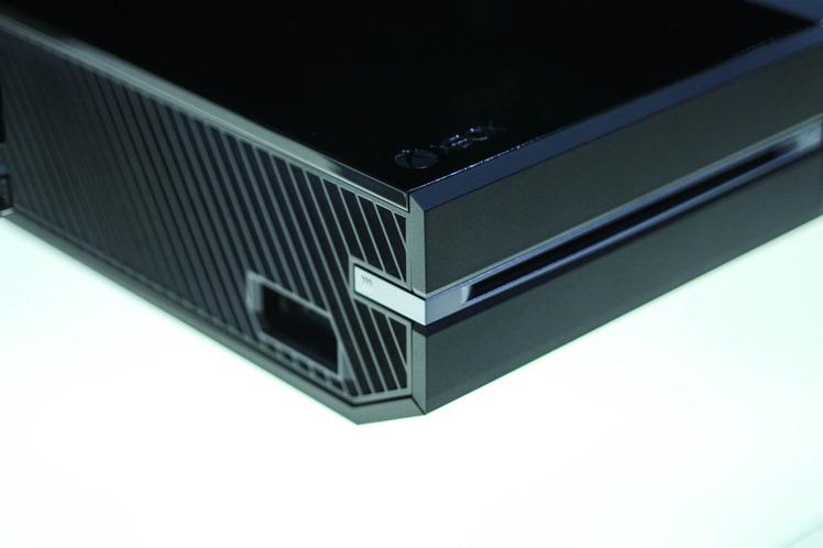 Foto dell'angolo della Xbox One