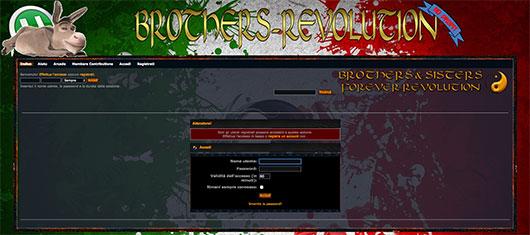 Immagine del sito Brothers-Revolution