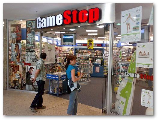 Immagine di un negozio della GameStop