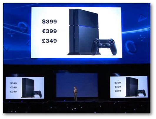 Immagine generica sul prezzo delle console