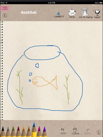 Immagine dell'applicazione Draw for iPad per iPad