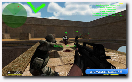Immagine del gioco online CS Portable