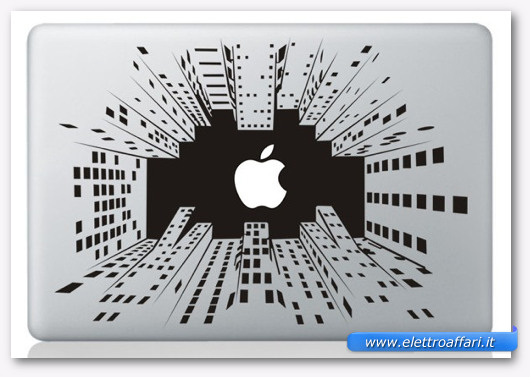 Immagine dell'adesivo Skyscraper per MacBook