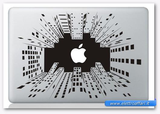Immagine dell'adesivo Skyscraper per MacBook