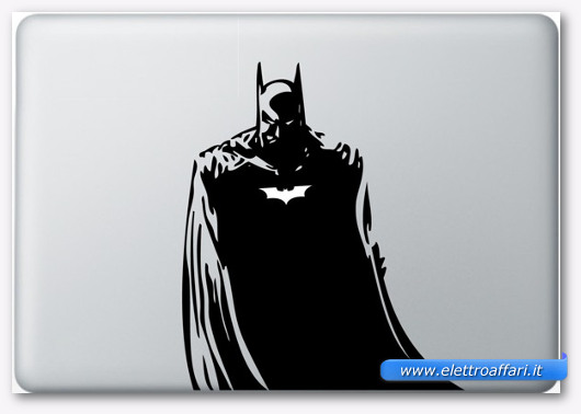 Immagine dell'adesivo Batman per MacBook