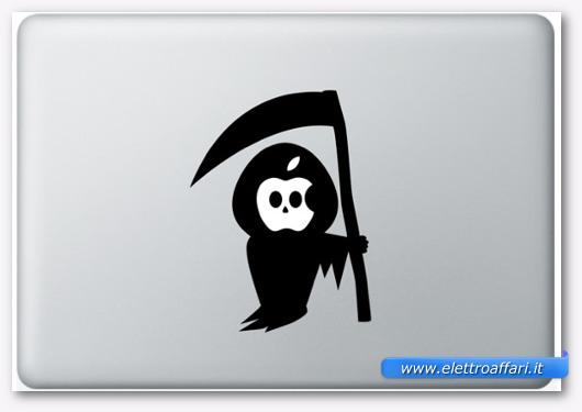 Immagine dell'adesivo Il sig. Morte per MacBook