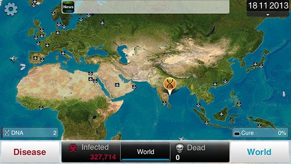 Immagine del gioco Plague Inc