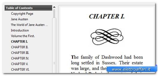 Immagine dei nuovi eBook ottenuti