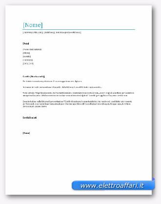 Lettera Di Presentazione Prima Del Curriculum Mc Informatica