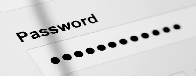 Immagine generica sulla sicurezza di una password su Dropbox